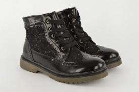 Postavljene dečije duboke cipele CH50759 crne