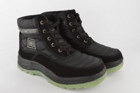 Postavljene muške duboke cipele LGM crne