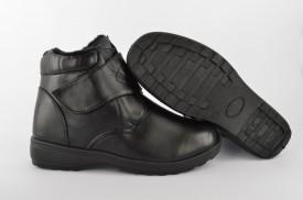 Postavljene ženske duboke cipele 006-1 crne
