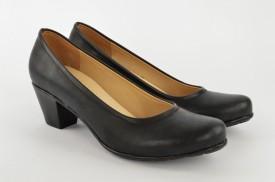 Ženske cipele na štiklu 2934 crne