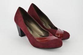 Ženske cipele na štiklu 461 bordo
