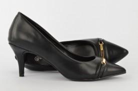 Ženske cipele na štiklu - Salonke WSH17016 crne