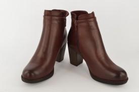 Ženske čizme na štiklu LH75024-1 bordo