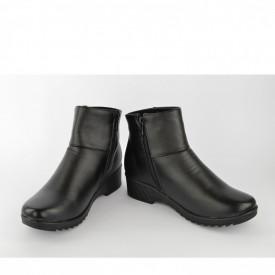 Ženske duboke cipele na platformu LH86355-1CR crne