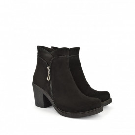 Ženske duboke cipele na štiklu 2251CR crne