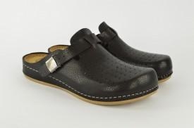 Ženske papuče - Klompe SBP-063C crne
