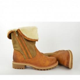 Ženske poluduboke čizme LH95260 braon