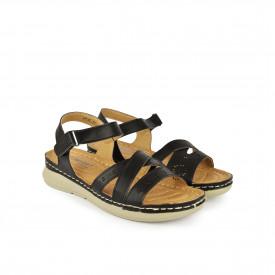 Ženske sandale LS020343CR crne