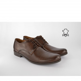 Kožne muške cipele 418BR braon