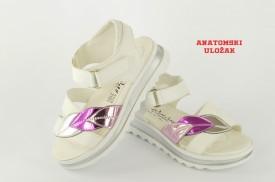 Dečije sandale 380 bele