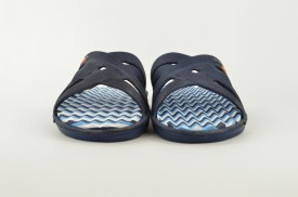 Gumene muške papuče E074-P plave