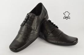 Kožne elegantne muške cipele 534 crne
