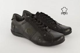 Kožne muške cipele 183 crne