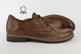 Kožne muške cipele 405-B braon