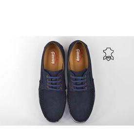 Kožne muške cipele 7018TT teget