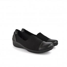 Ženske cipele na platformu 13209CR crne