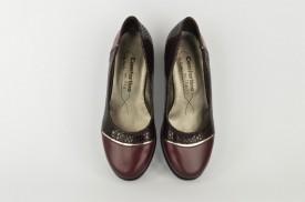 Ženske cipele na štiklu 230 bordo