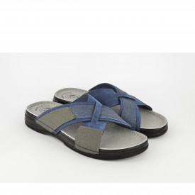 Muške papuče 154084PL plave