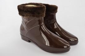 Gumene ženske čizme 6-028-B braon