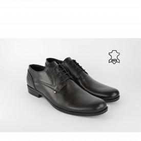 Kožne muške cipele 451CR crne