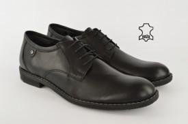 Kožne muške cipele 655-3 crne