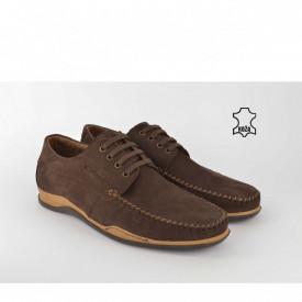 Kožne muške cipele 7019BR braon
