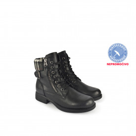NEPROMOČIVE ženske duboke cipele 19AW1839CR crne
