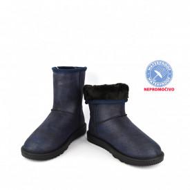 NEPROMOČIVE ženske duboke čizme LH086655TT teget