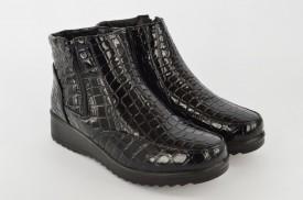 Postavljene ženske duboke cipele LH77404-1 crne