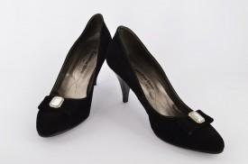Ženske cipele na štiklu 198-C crne