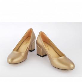 Ženske cipele na štiklu 8261ZT zlatne