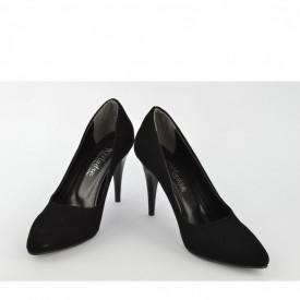 Ženske cipele na štiklu - Salonke 1510-C crne