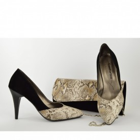 Ženske cipele na štiklu - Salonke 205CR crne