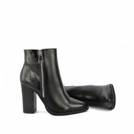 Ženske duboke cipele na štiklu LH051733CR crne