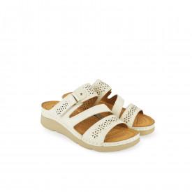 Ženske papuče LP020318BL bele