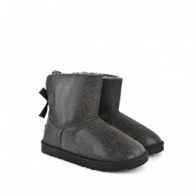 Ženske poluduboke čizme - Šunjalice LH075027-2SV sive
