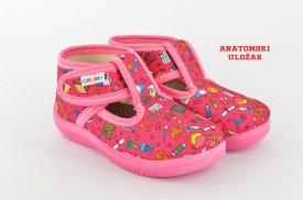 Dečije patofne 037-14 sa anatomskim uloškom roze