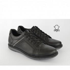Kožne muške cipele 1903CR crne