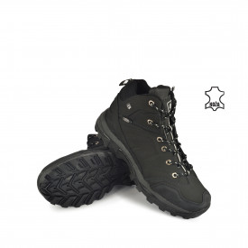 Kožne muške duboke cipele 34589D-4CR crne