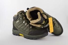 Postavljene dečije duboke cipele 1561-Z maslinaste