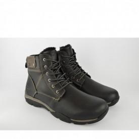 Postavljene muške cipele 054111 crne