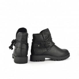 Postavljene ženske duboke cipele LH051553CR crne