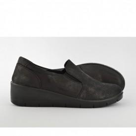 Ženske cipele na platformu L95420CR crne