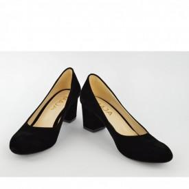 Ženske cipele na štiklu 2027C crne