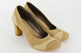 Ženske cipele na štiklu 284 bež