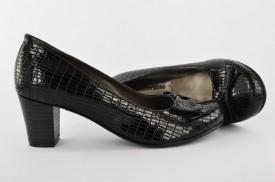 Ženske cipele na štiklu 407-112 crne