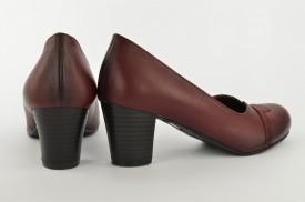 Ženske cipele na štiklu 483-C bordo