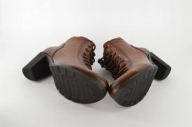 Ženske cipele na štiklu 67 braon