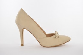 Ženske cipele na štiklu L0464 bež
