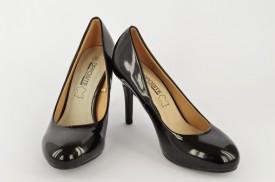 Ženske cipele na štiklu L30415 crne